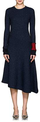 Cédric Charlier Women's Metallic Cable-Knit Midi-Dress