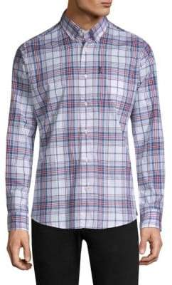 Barbour Christopher Country Check Button-Down Shirt