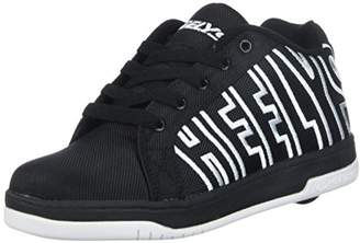 Heelys Boy's Split Running Shoes, Black/White