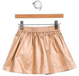 Little Marc Jacobs Girls' Metallic Flared Skirt w/ Tags