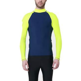 d949ec26a731d WNDSYN Men Rashguard Wetsuit Surf UV Protection Swim Shirt Diving Tops Long  Slee XL