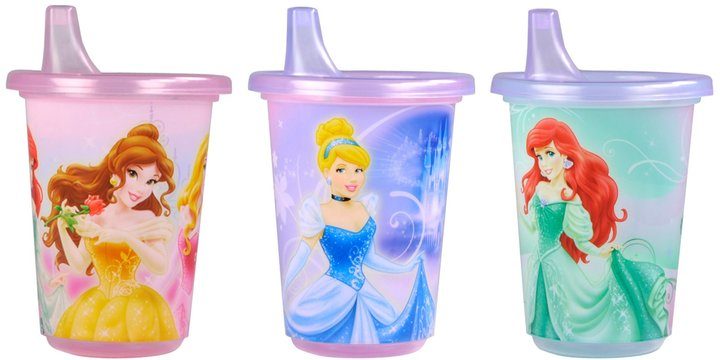 The First Years Take & Toss Spill-Proof Sippy Cup - Disney Princess - 10 oz - 3 ct