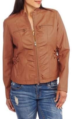 Moto Maxwell Studio Women's Faux Leather Jacket