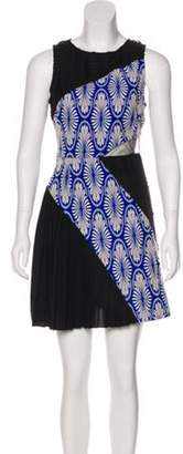 Timo Weiland Embroidered Mini Dress Black Embroidered Mini Dress