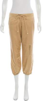 Theory Mid-Rise Cropped Pants