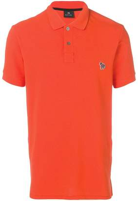 Paul Smith zebra patch polo shirt