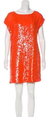 Trina Turk Sequin Mini Dress