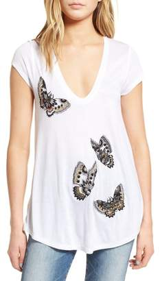 Zadig & Voltaire Tiny Cannet Butterfly Tee
