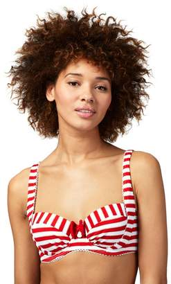 Floozie by Frost French - Red Striped Bikini Top