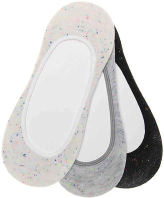 Keds Neon Speck No Show Liners - 3 Pack - Women's