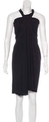Rick Owens Lilies Halter Mini Dress