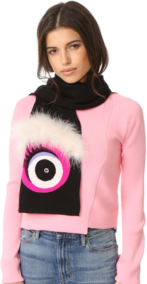Kate Spade New York Monster Muffler Scarf $228 thestylecure.com