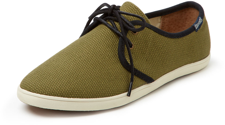 Soludos Derby Woven Lace-Up