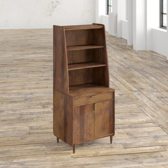 Mercury Row Cutrer 1-Drawer Vertical Filing Cabinet And Hutch Mercury Row