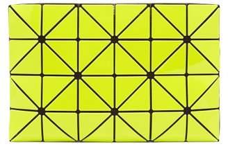 Bao Bao Issey Miyake Lucent Two Tone Flat Pouch - Womens - Yellow Multi