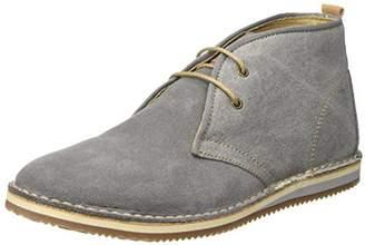 857b8c03b1a Lumberjack Mens SM30203-001P45 Derby Shoes Grey Size  6.5UK