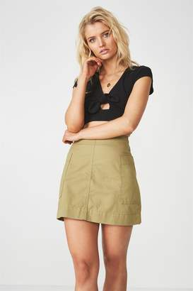 Supre Side Pocket Mini Skirt