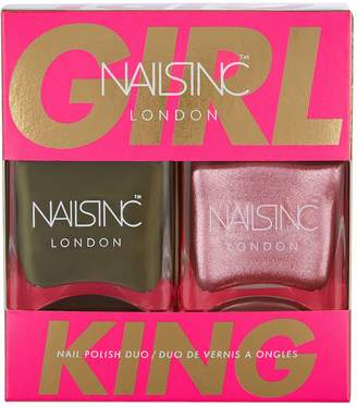 Next Womens Nails Inc Girl King Duo