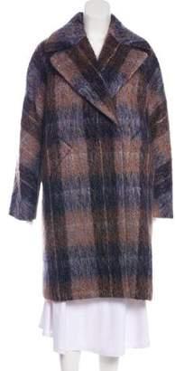 Trina Turk Wool & Mohair-Blend Coat