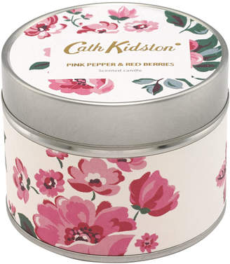 Cath Kidston Pink Pepper and Berries Tin Candle