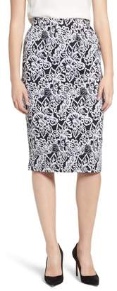 Everleigh Double Knit Pencil Skirt