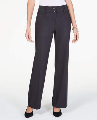 Alfani Curvy-Fit Slimming Bootcut Pants