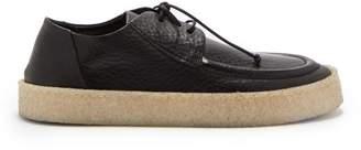 Marsèll Cassapara Leather Derby Shoes - Mens - Black