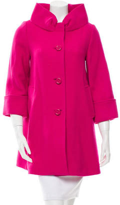 Kate Spade New York Wool Short Coat $145 thestylecure.com
