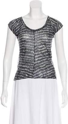 Marni Short Sleeve Printed T-Shirt