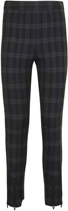 Alexander Wang Tartan Skinny Trousers