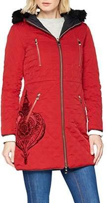 Desigual Women's Abrig_Azul Coat,16 UK