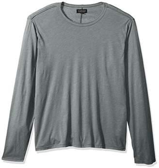 Velvet by Graham & Spencer Men's Olly Heathered Long Sleeve Crew Neck Shirt