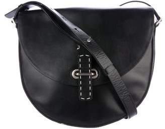 Michael Kors Leather Saddle Bag
