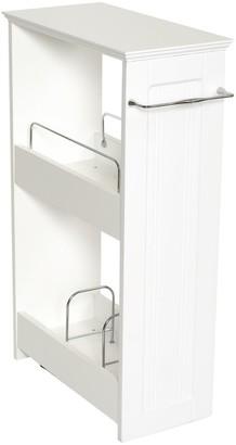 Zenith Slimline 2-Shelf Rolling Organizer