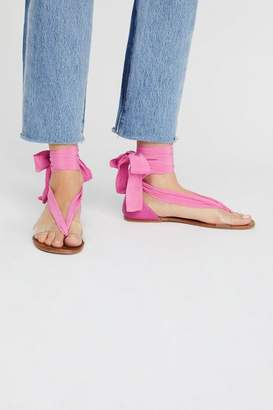 Free People Fp Collection Barcelona Tie Sandal