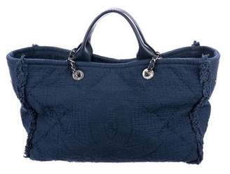 Chanel 2018 Large Double Face Deauville Tote
