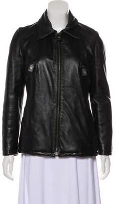 Fendi Vintage Leather Jacket
