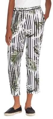 Lauren Ralph Lauren Print Twill Skinny Pants