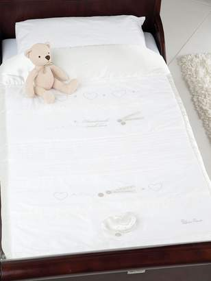 Silver Cross Luxury Cot Quilt - Handmade with Love
