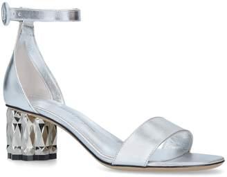 Salvatore Ferragamo Leather Azalea Slingback Sandals