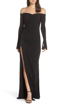 Evening Gown High Side Slit Shopstyle