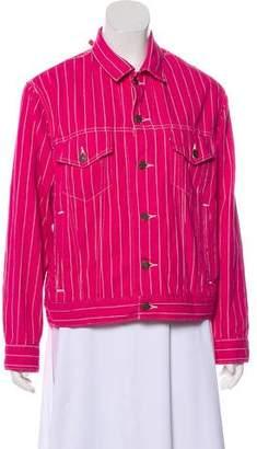 Levi's Supreme x 2018 Pinstripe Jacket w/ Tags