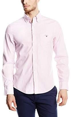 Gant Men's Broadcloth Banker Stripe Shirt