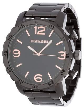 Steve Madden Men's Alloy Bracelet Watch, 50mm
