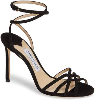 Jimmy Choo Mimi Ankle Strap Sandal