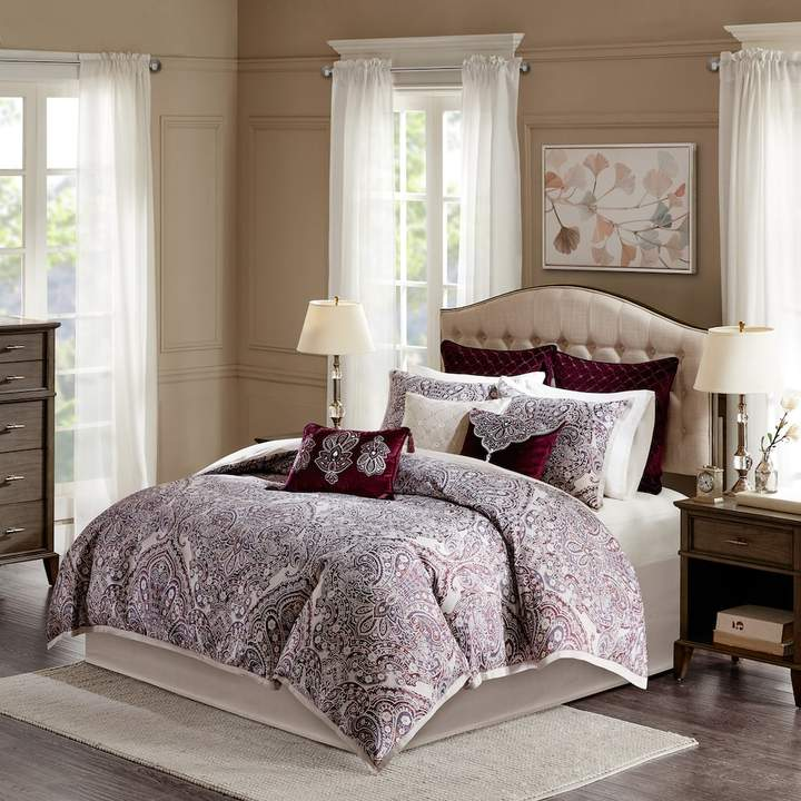 Bombay 9-piece Patterson Jacquard Bedding Set