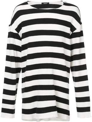 Undercover striped sweater