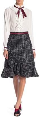 Gracia Tweed Ruffle Skirt