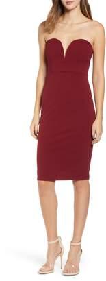 Leith Strapless Sheath Dress