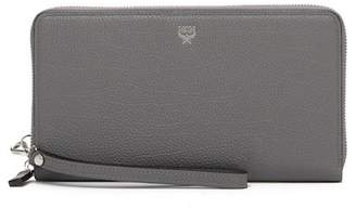 MCM Ottomar Large Leather Zip Wallet